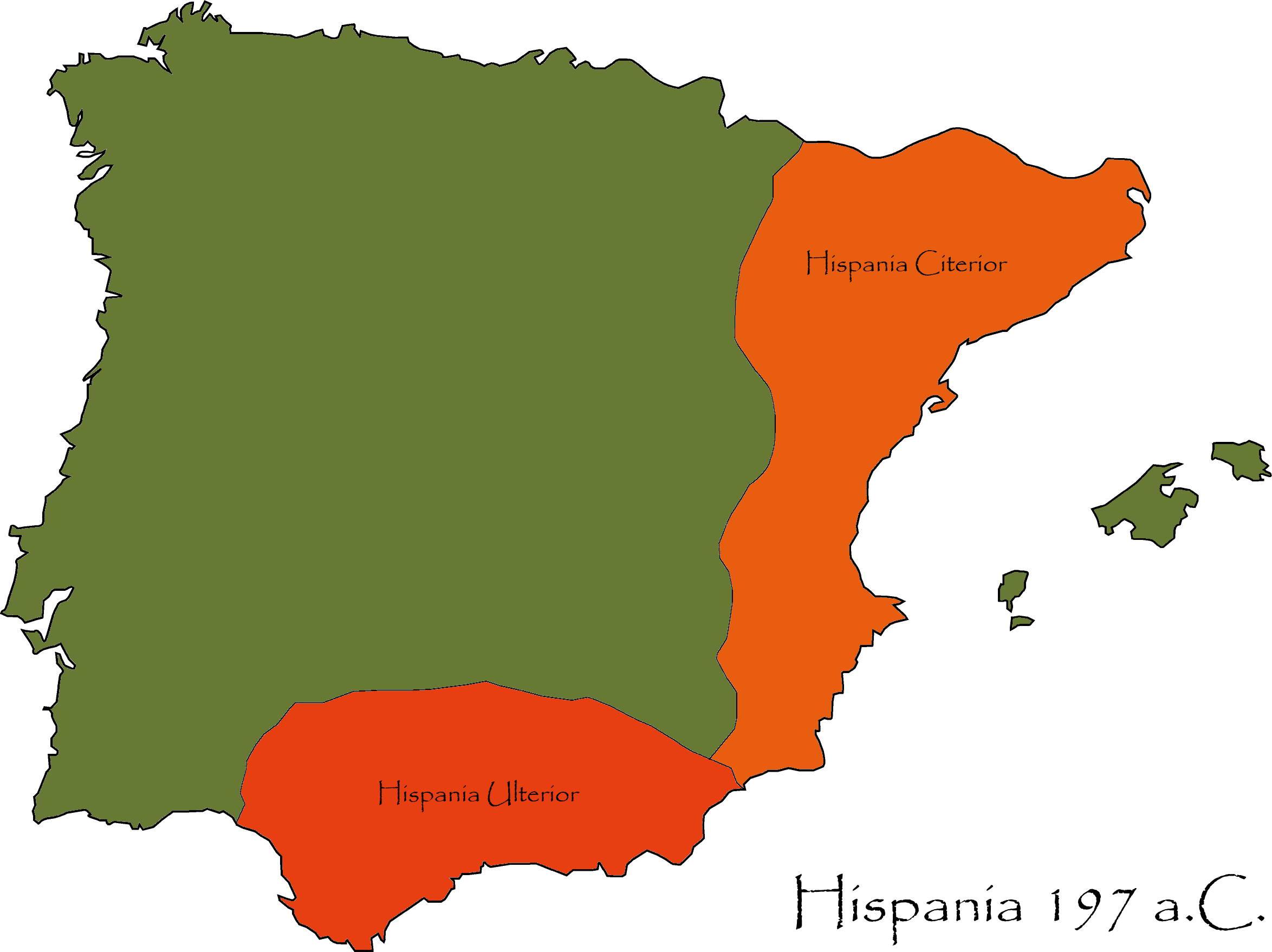 Cartina Spagna Romana.Instoria Province Romane Hispania