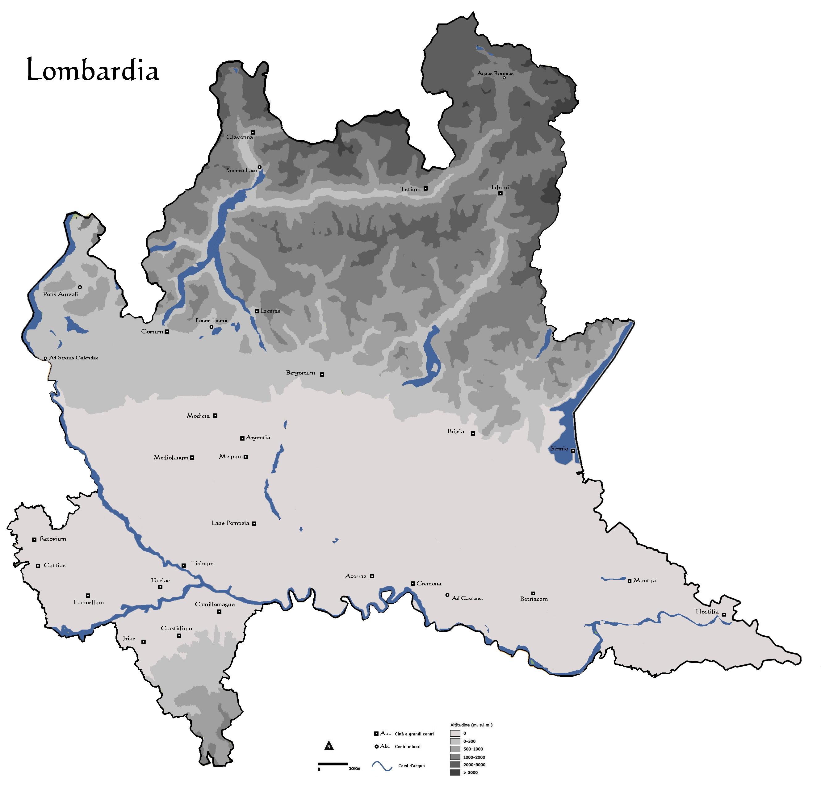 Cartina Economica Lombardia.Instoria Italia Antiqua Iv Lombardia Parte Iv